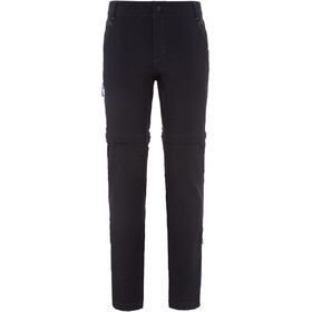 The North Face Exploration Convertible Pants Women Short TNF Black